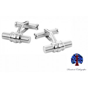 Montblanc Cuff Links Classic Steel