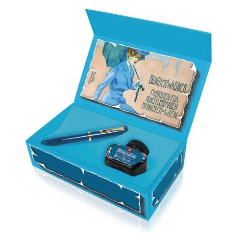 Estuche Pelikan 120 Iconic Blue