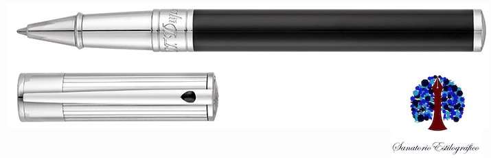 Roller S.T. Dupont D-Initial Duo Tone